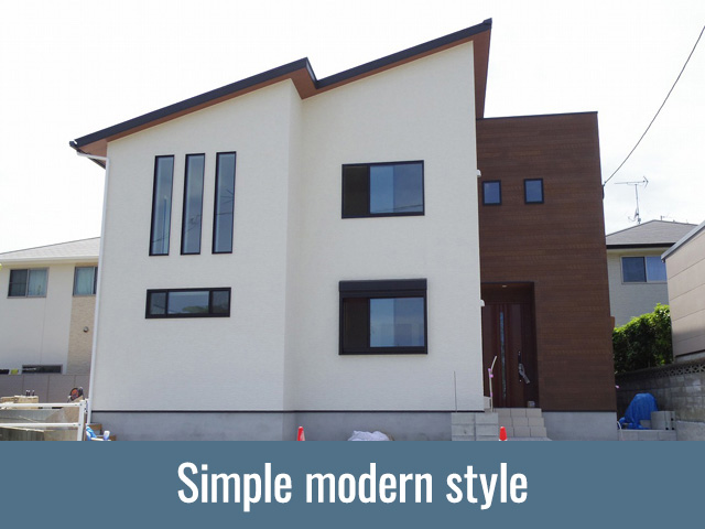 Simple modern style